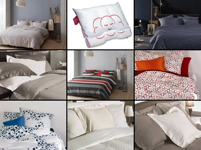 Bedtextiel Collage