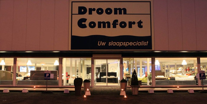 Droomcomfort Ingang