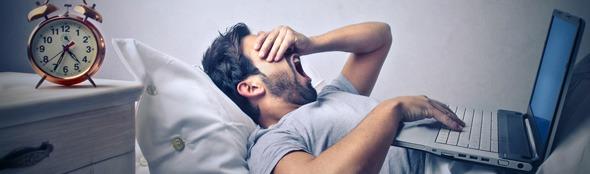 Hoe beïnvloedt GSM, laptop of tablet onze slaap?
